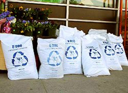 composted waste